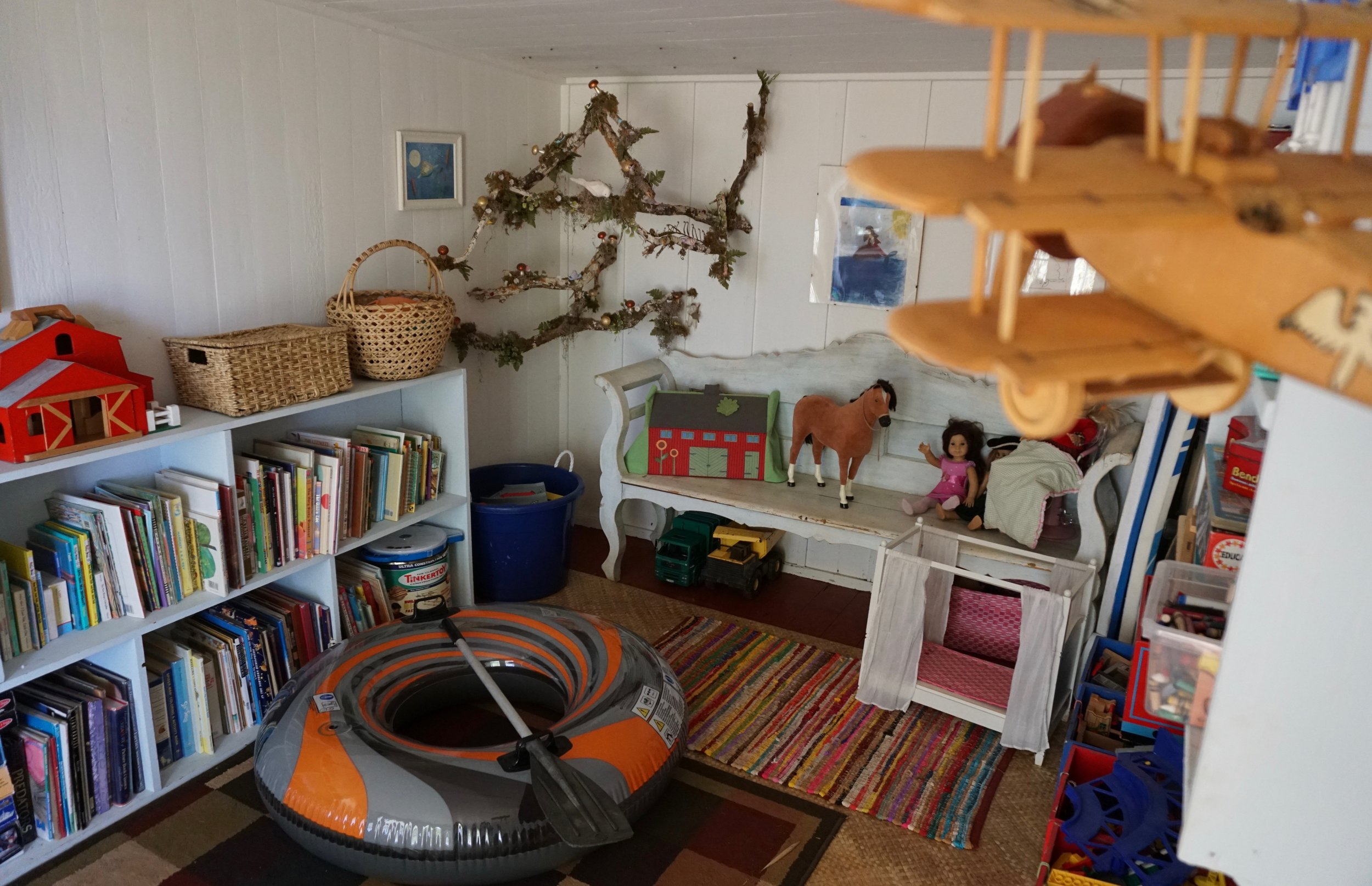 Toy Box playroom