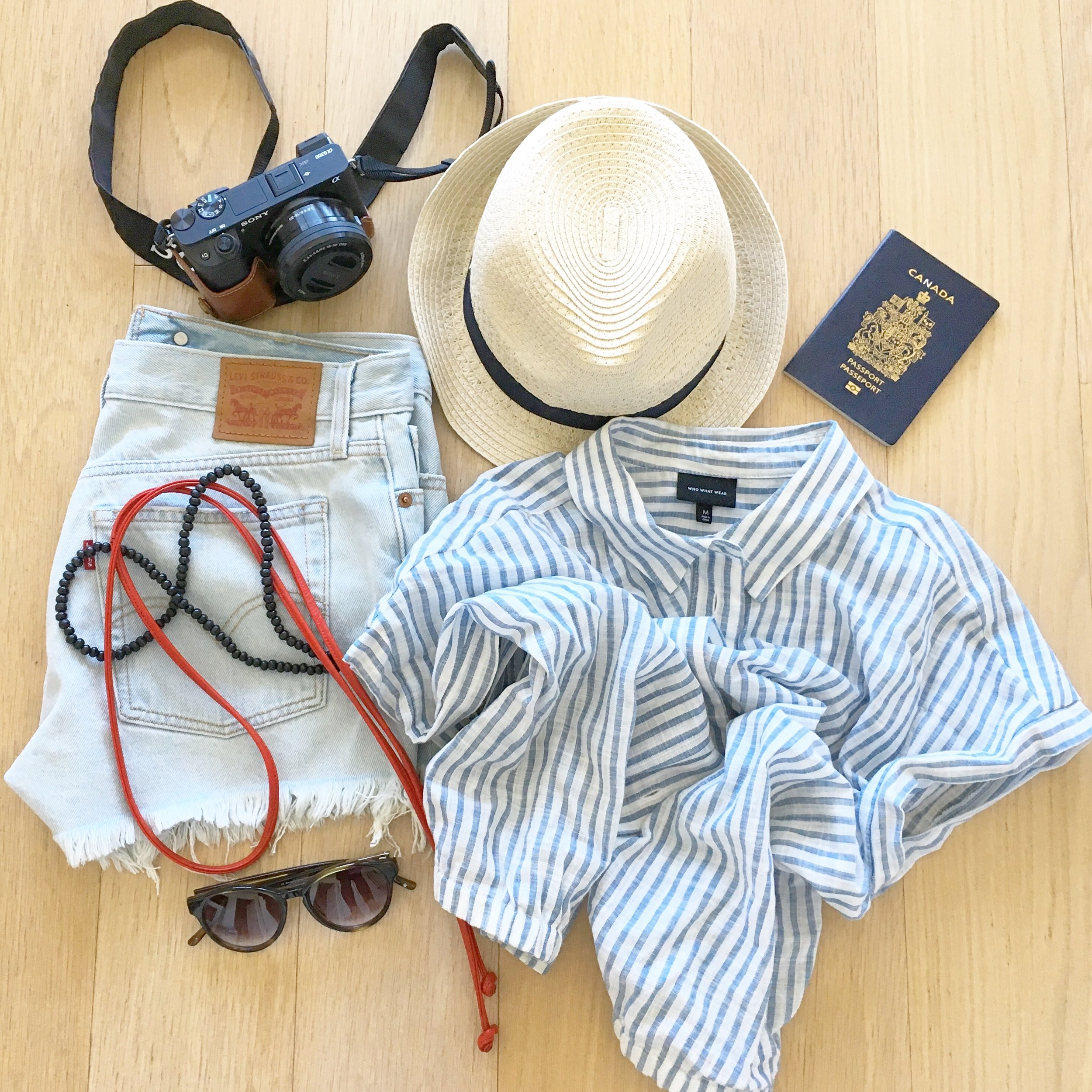 A snippet of my suitcase style based on the weather and my NY wanderings.