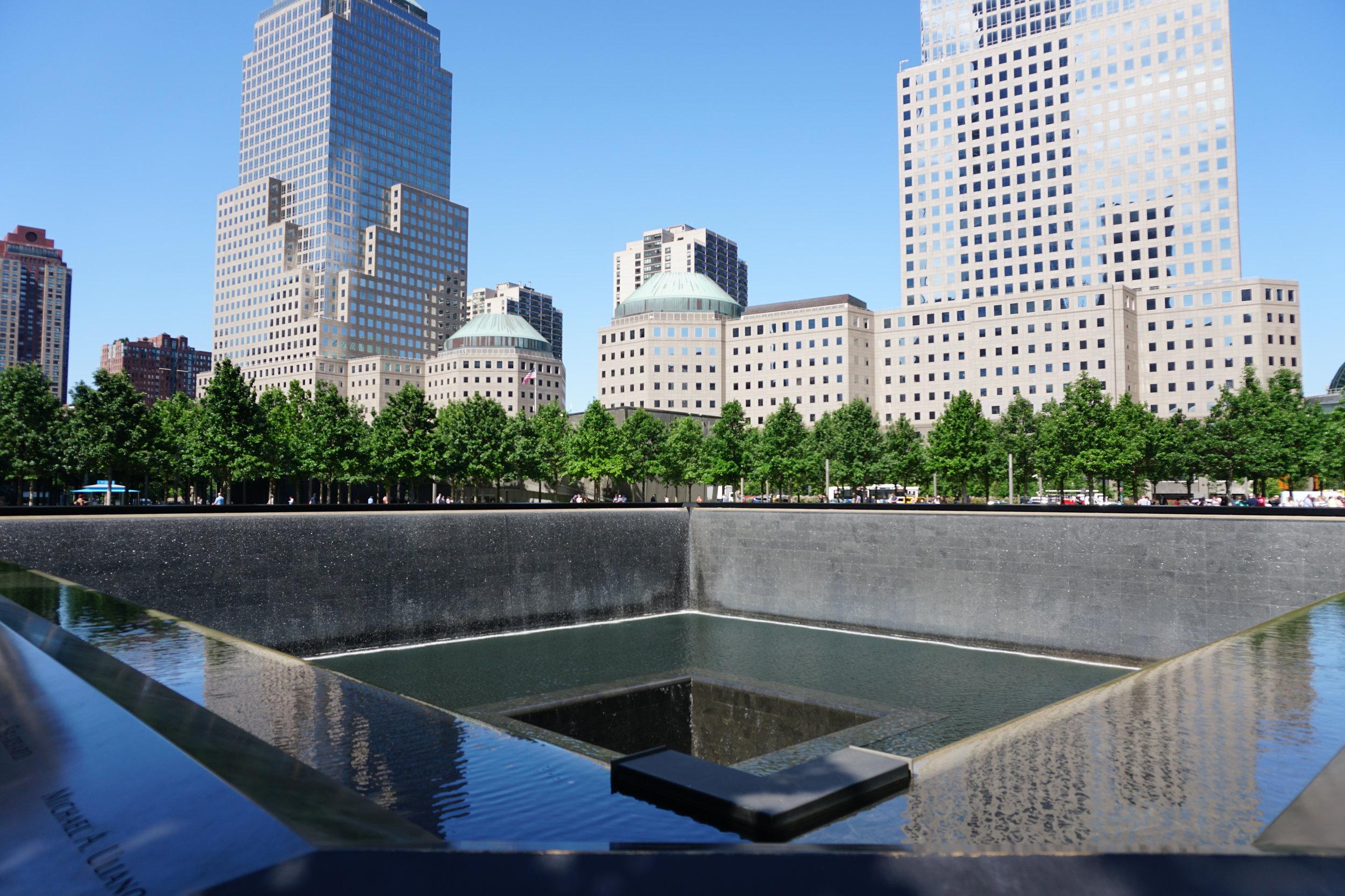 National September 11 Memorial & Museum.