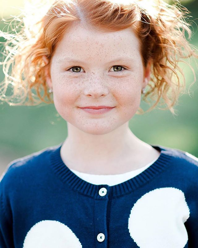 A portrait of one of the cuter guests at a recent wedding. #redhairdontcare