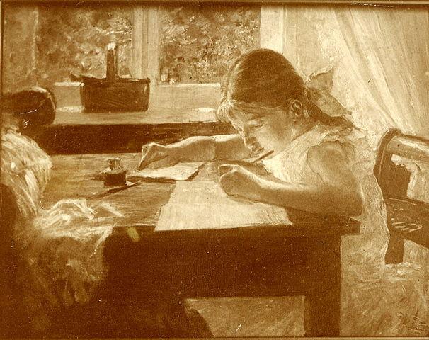 Vally (1888) by Paul Hoecker. Courtesy of Gerhard Becker, Neuried via  Wikimedia Commons .