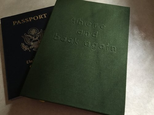 A passport and a journal--necessities on any adventure