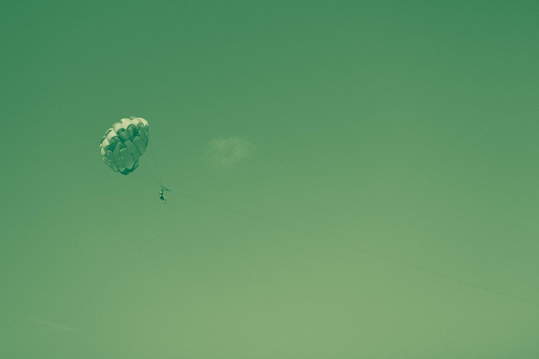 Green Parasail