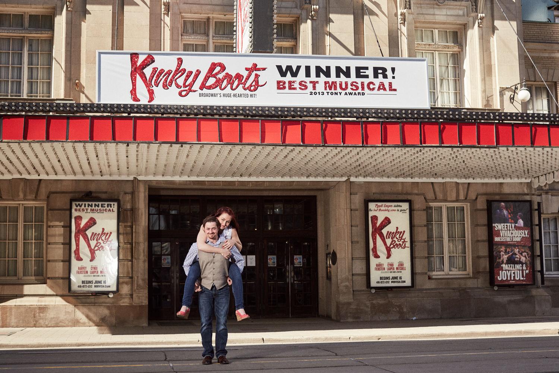 Crossing King Street at Royal Alexandra Theatre