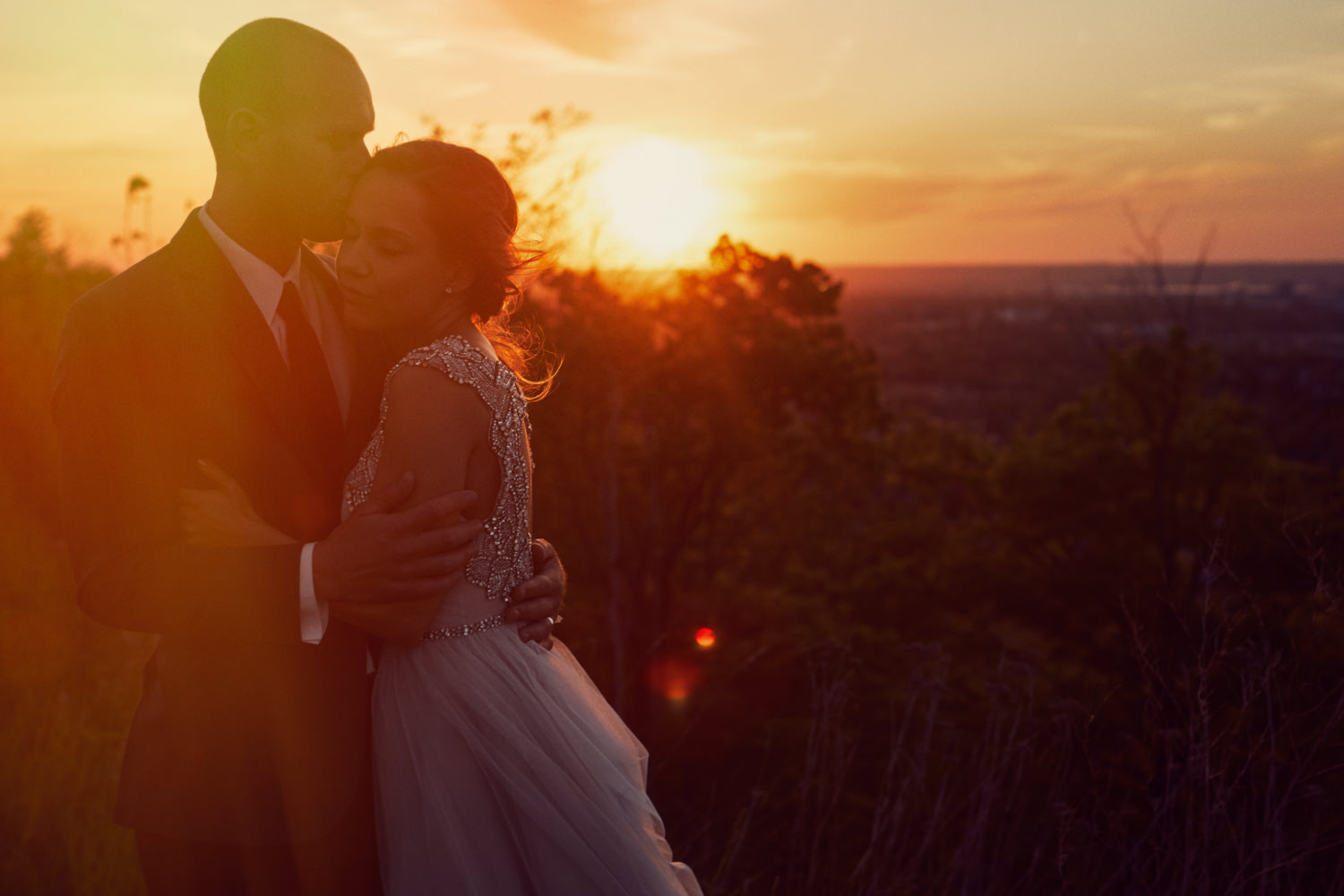 Stoney Creek Wedding Sunset