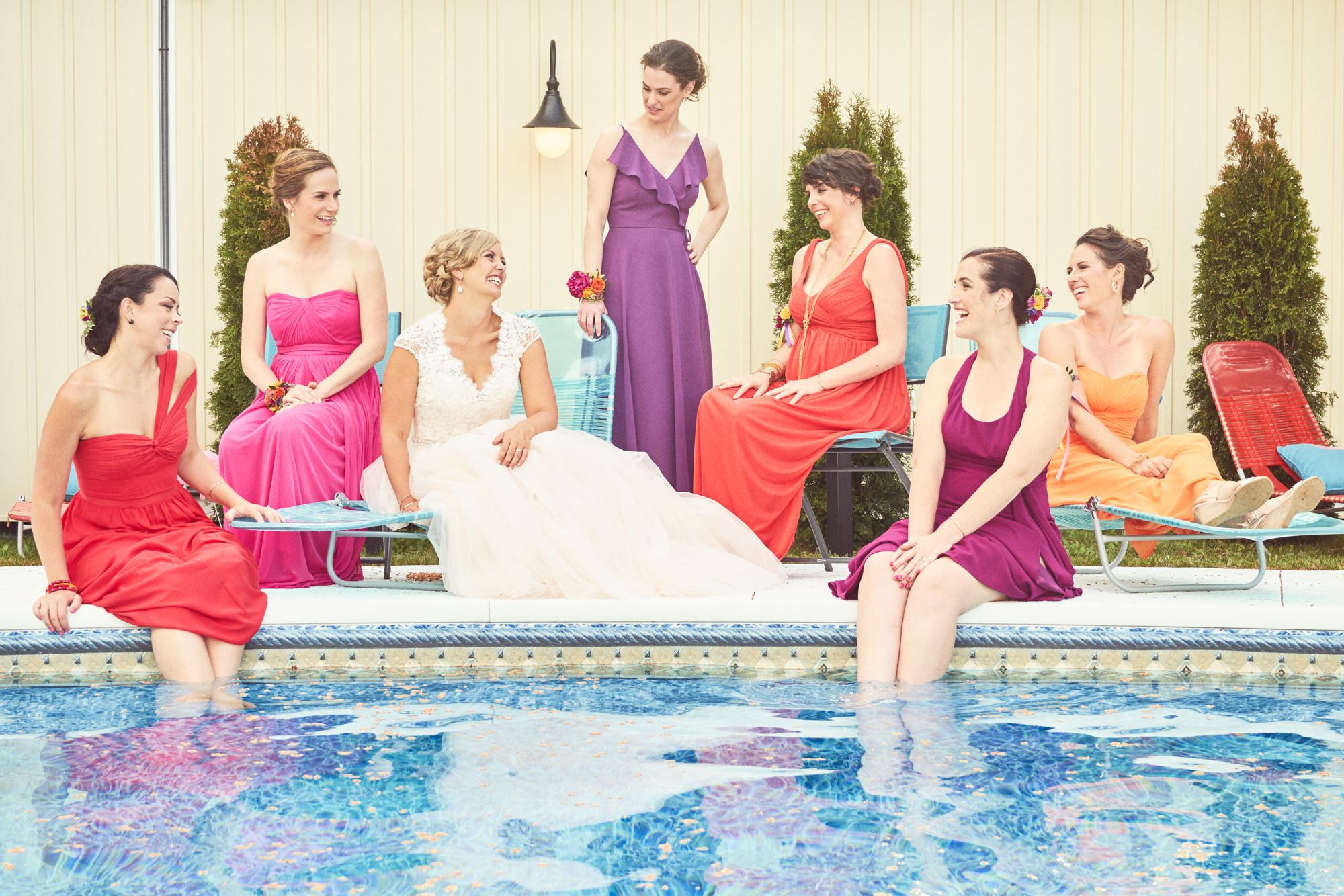 pool girls