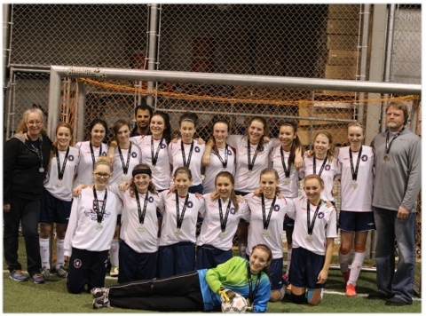 Scottish United 1999 Girls - Silver in Saskatoon