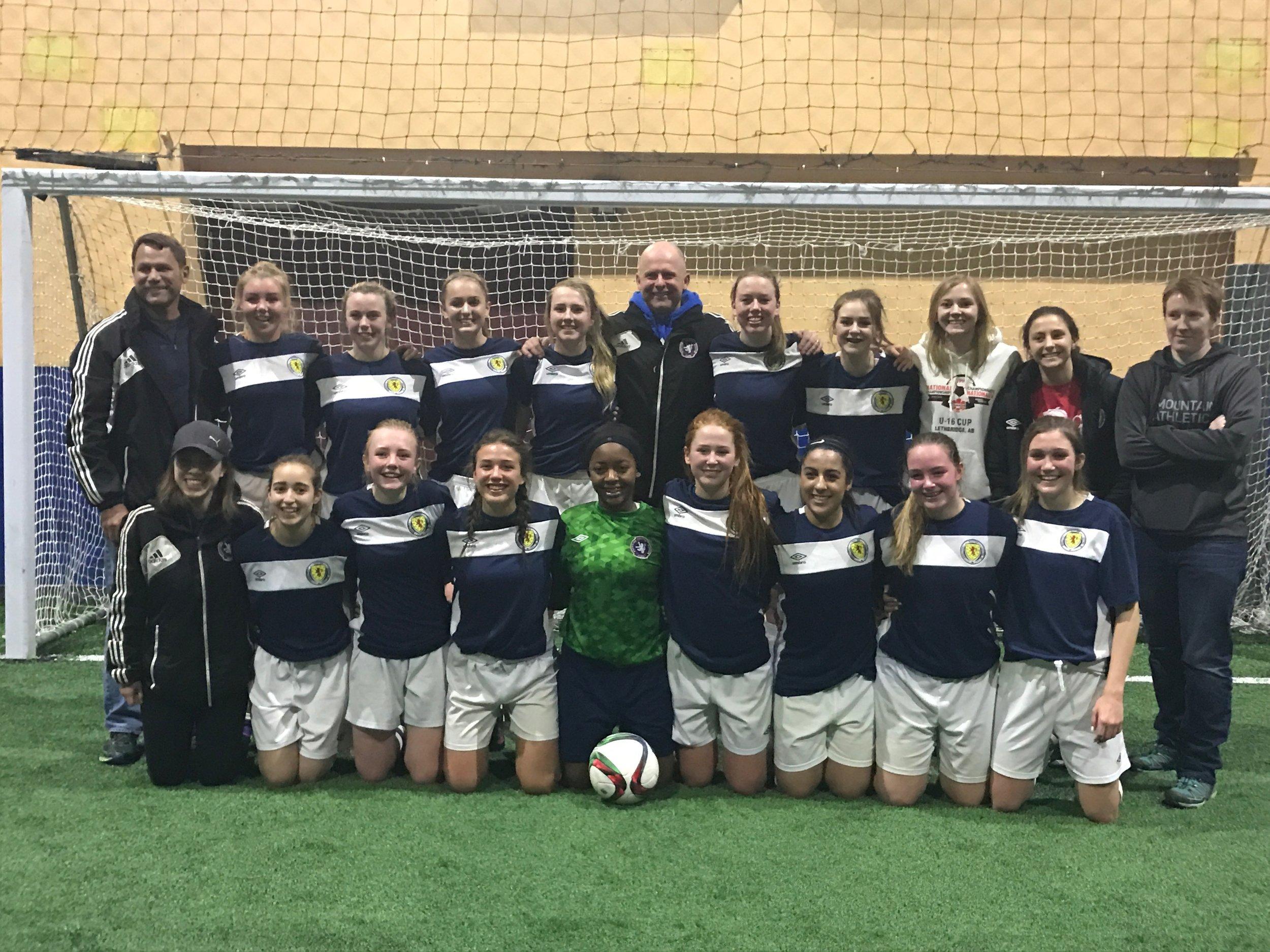 Under 17 T1 Girls - EIYSA League Champions