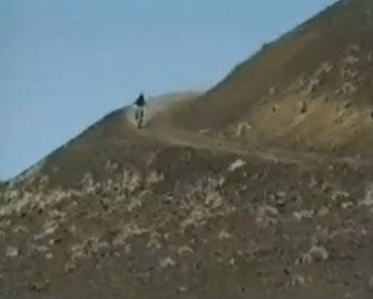Bike down the volcano on Maui crater bike trails on Haleakala