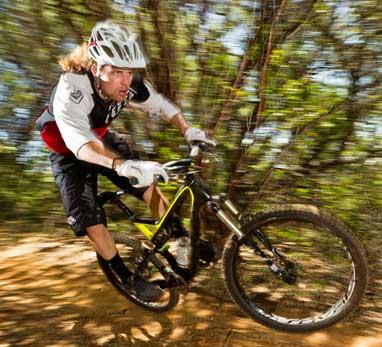 Perfomance mountain bike rental Maui includes the Stumpjumper FSR.