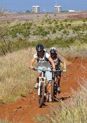 kaanapali mountain biking girls