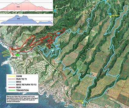 2013 XTerra Bike Courses Run