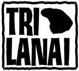 Maui county island of Lanai Triathlon TriLanai logo