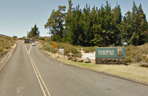 Haleakala Park Entrance