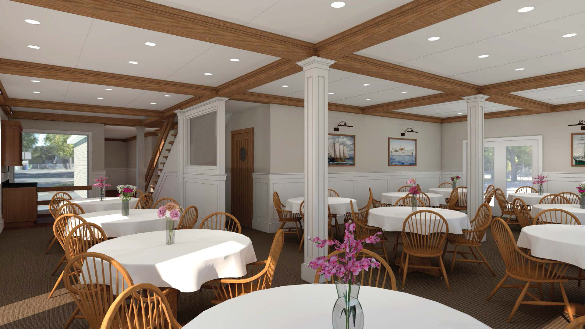 Rendering of Dining Room Renovation