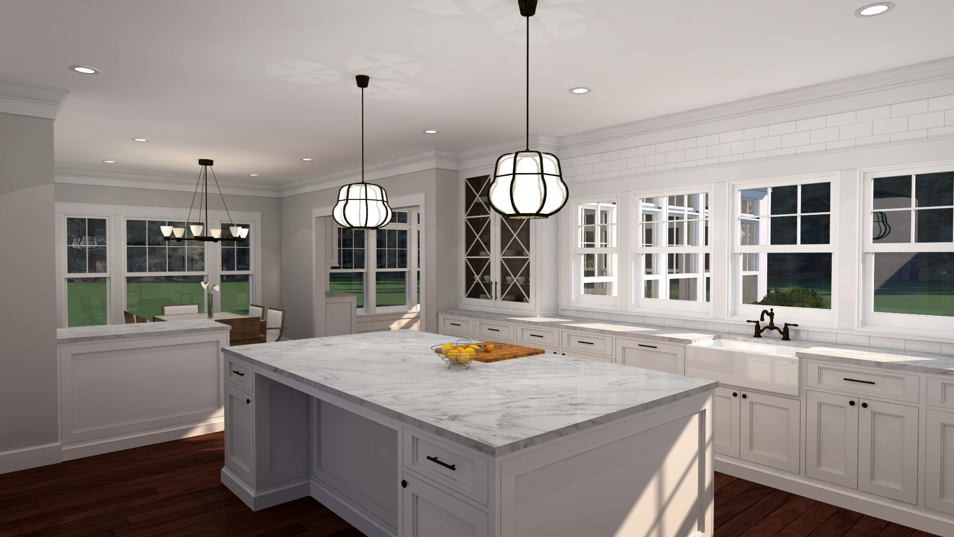 Photo-Realistic Rendering of new Kitchen
