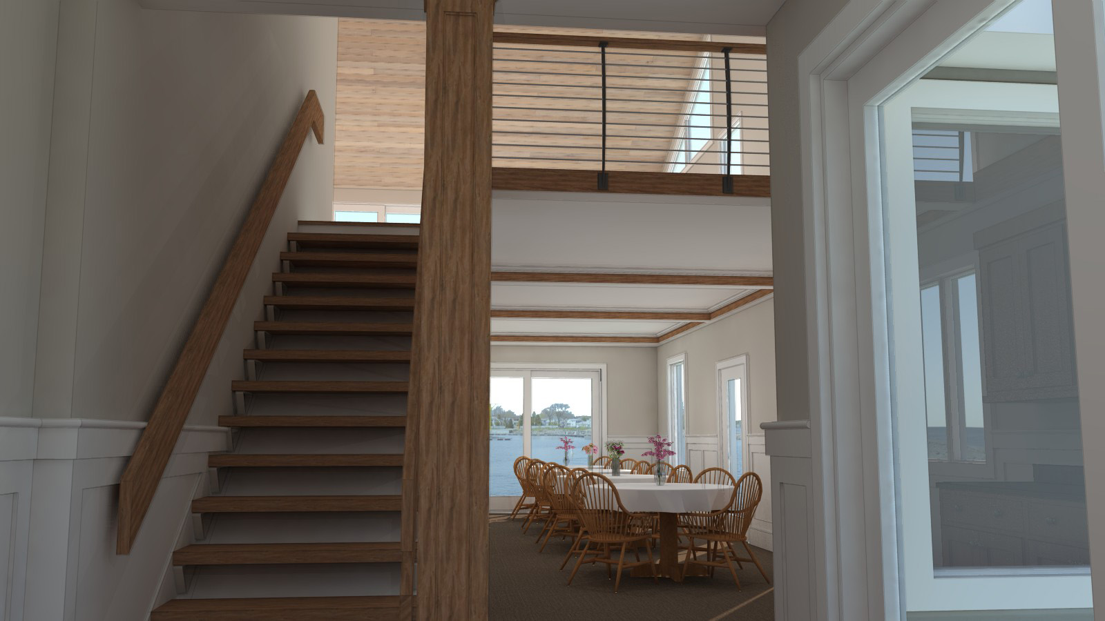Rendering of new Balcony