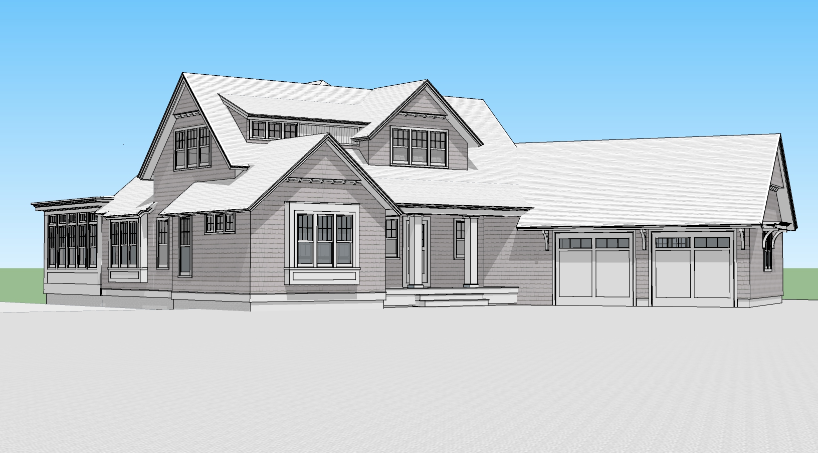 Rendering of New Single Family Home