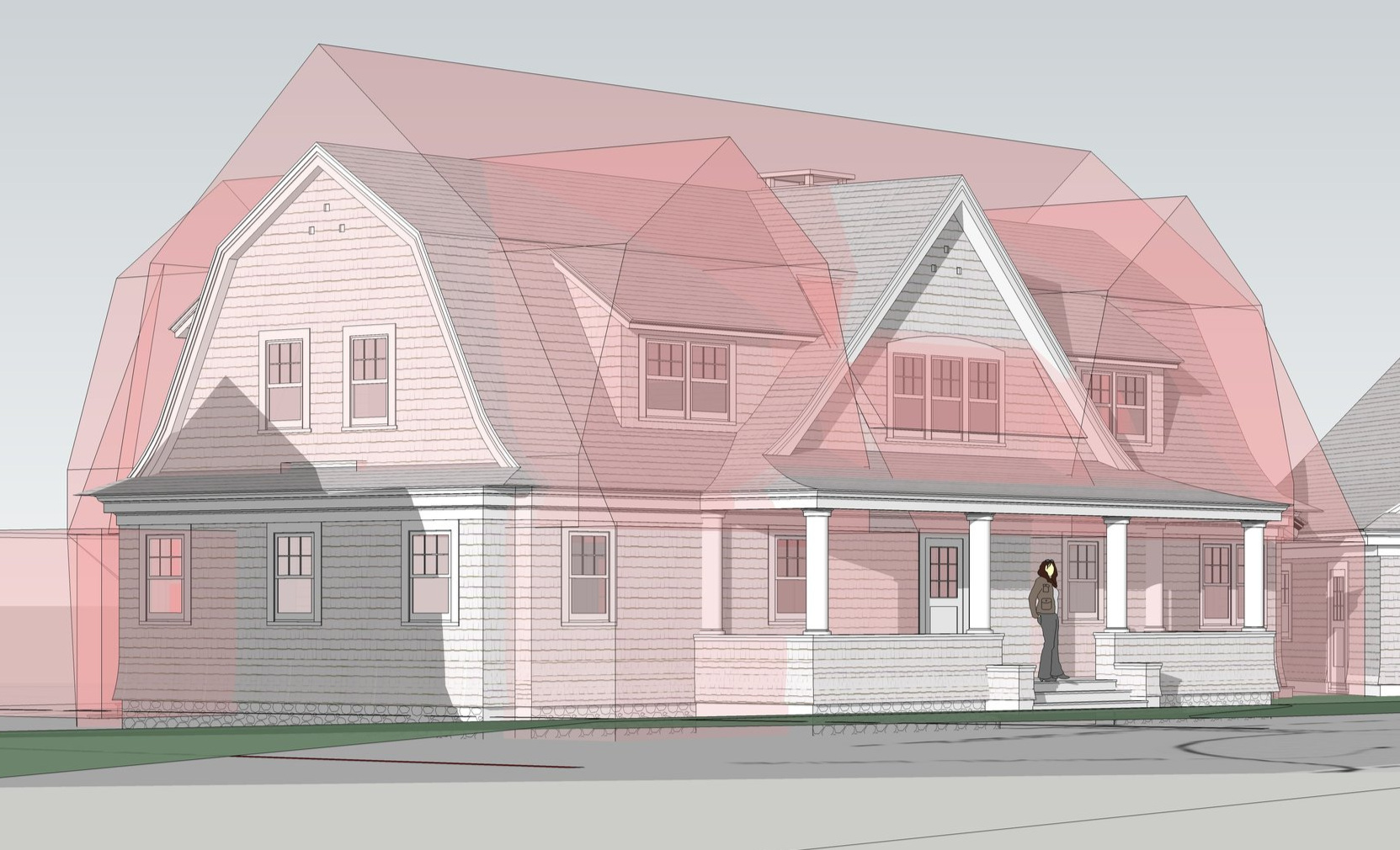 Historic Design Review Massing Study