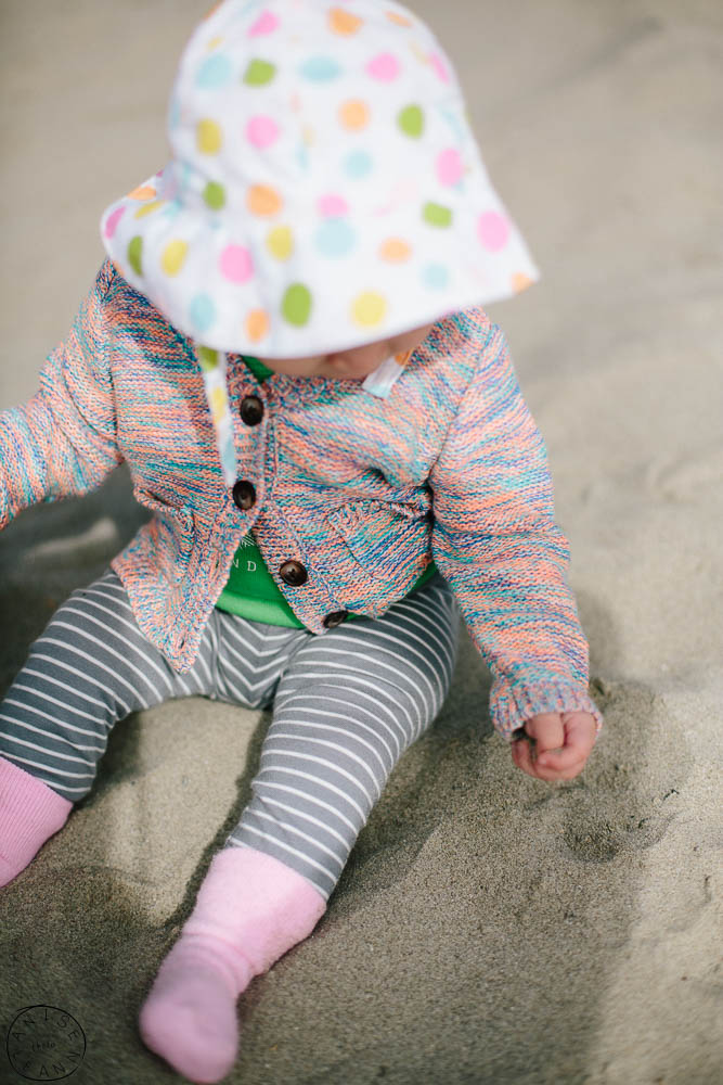 Baby's First Year  Baby Photography  Child Photography  Stinson Beach, California Marin county Photography