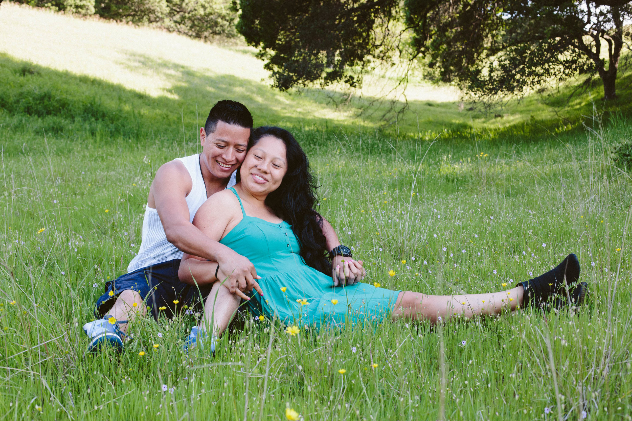 Marin Portrait Photography  Couple  Marin County  Family Photography