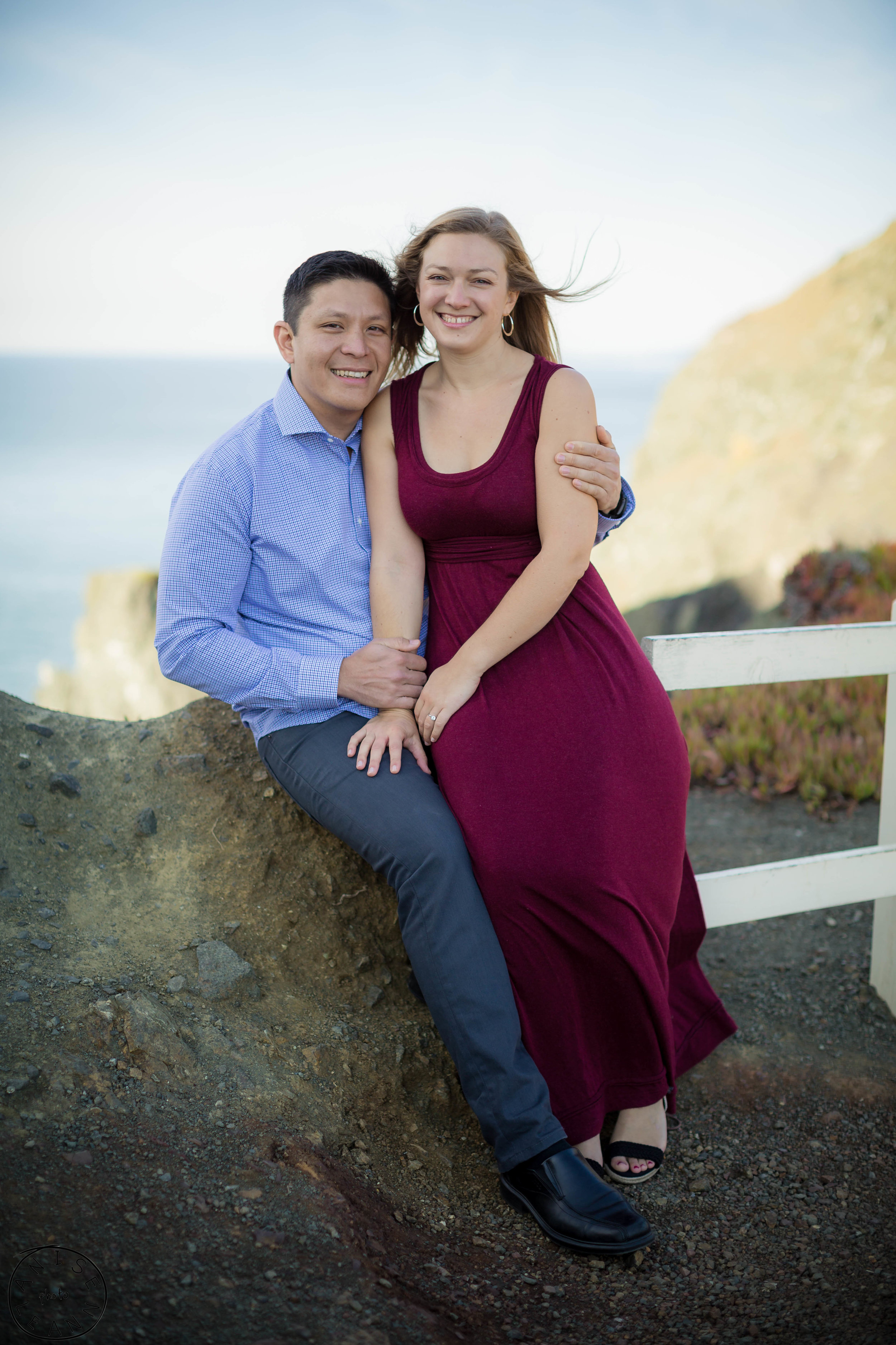 Engagement Pictures Marin Headlands
