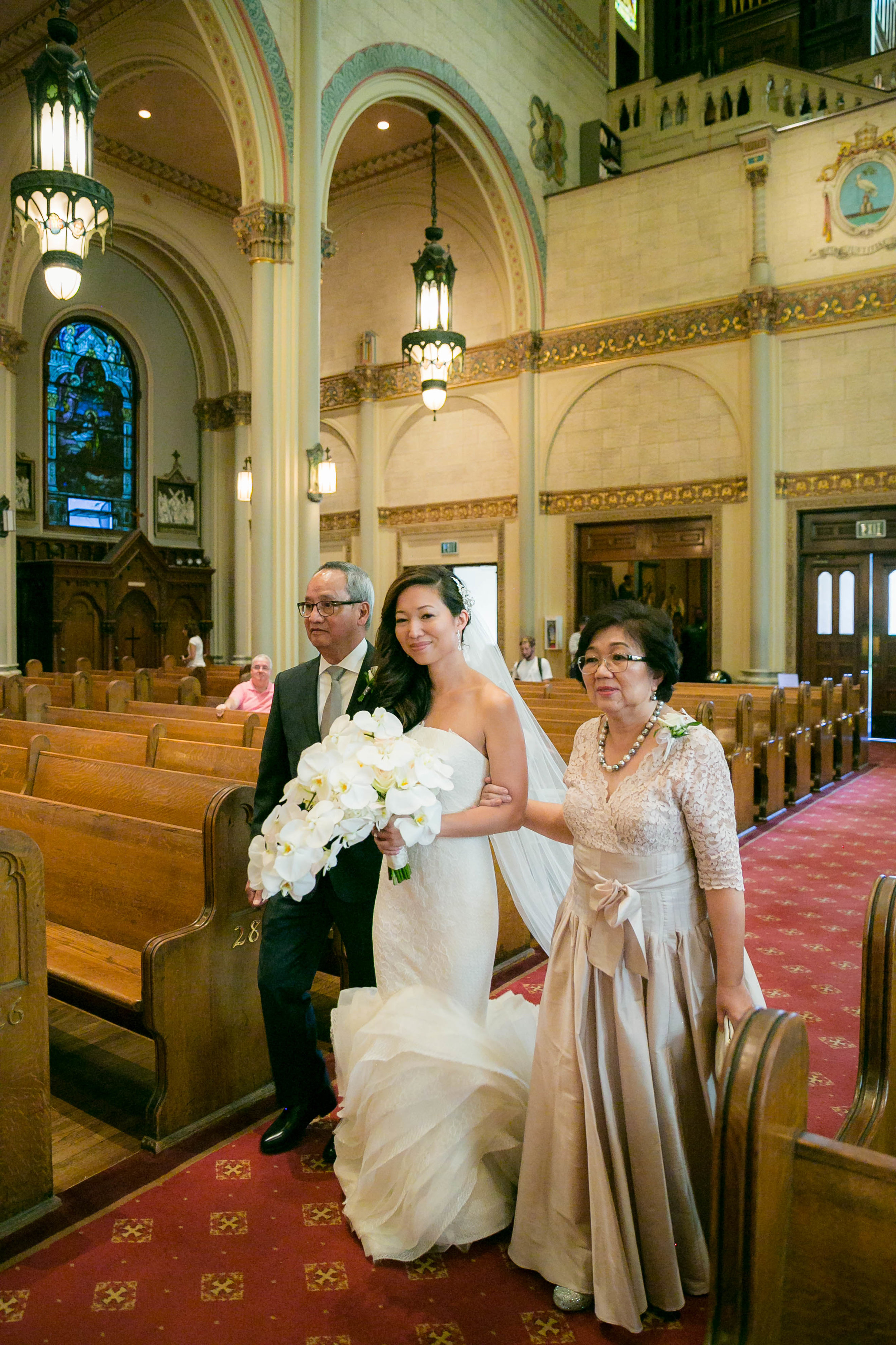Saint Peter and Paul Church Wedding - Little Italy San Francisco
