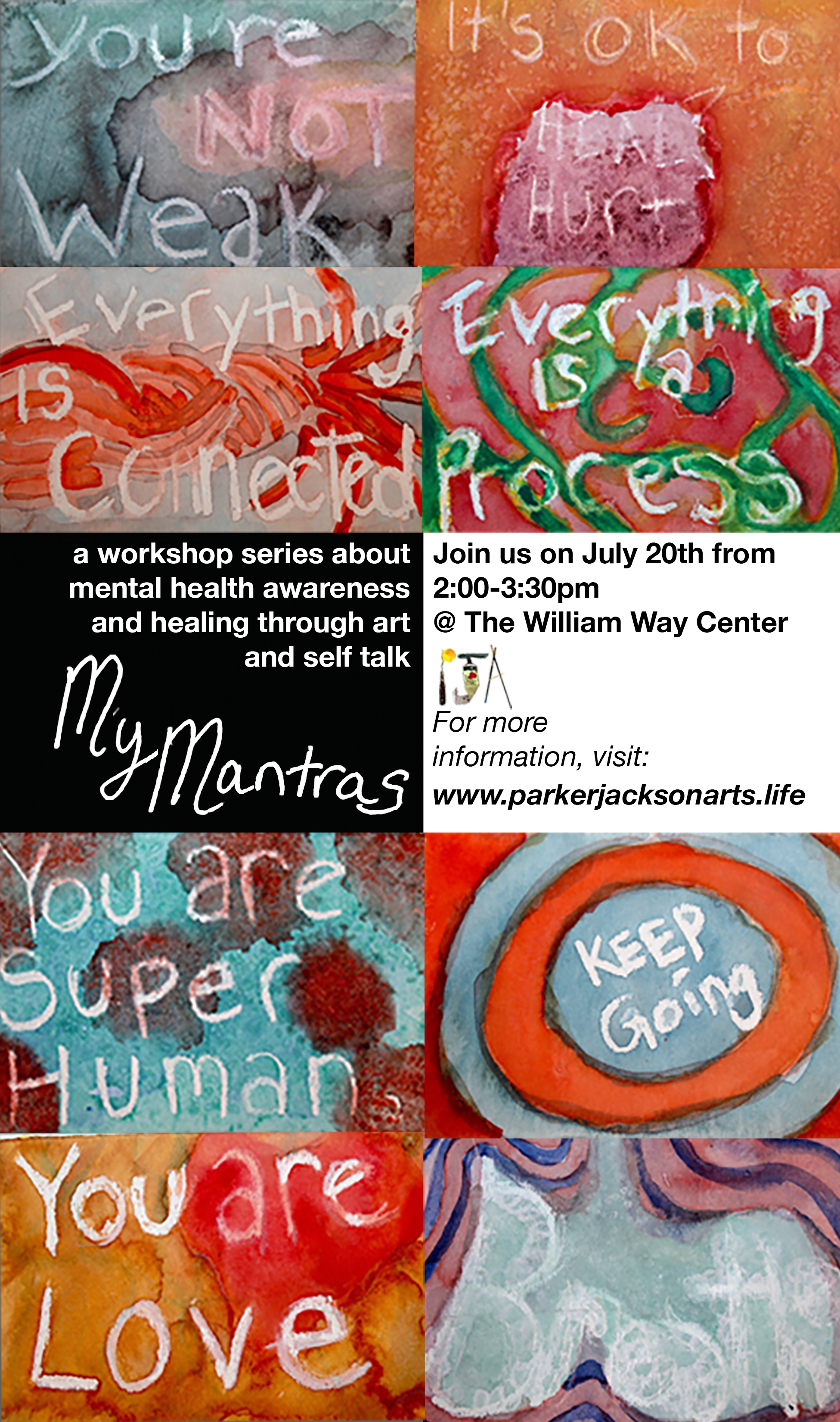 My Mantras - Healing through discussion and art processing…