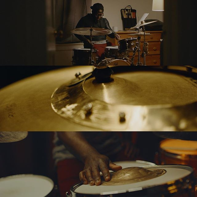 A few grabs from recent work with @stack_ring_percussion and @reverie_drums - link in the bio! . . . . . . . . #dp #easyrig #redhelium #ncfilmmakers #musicvideos #framez #commercialdirector