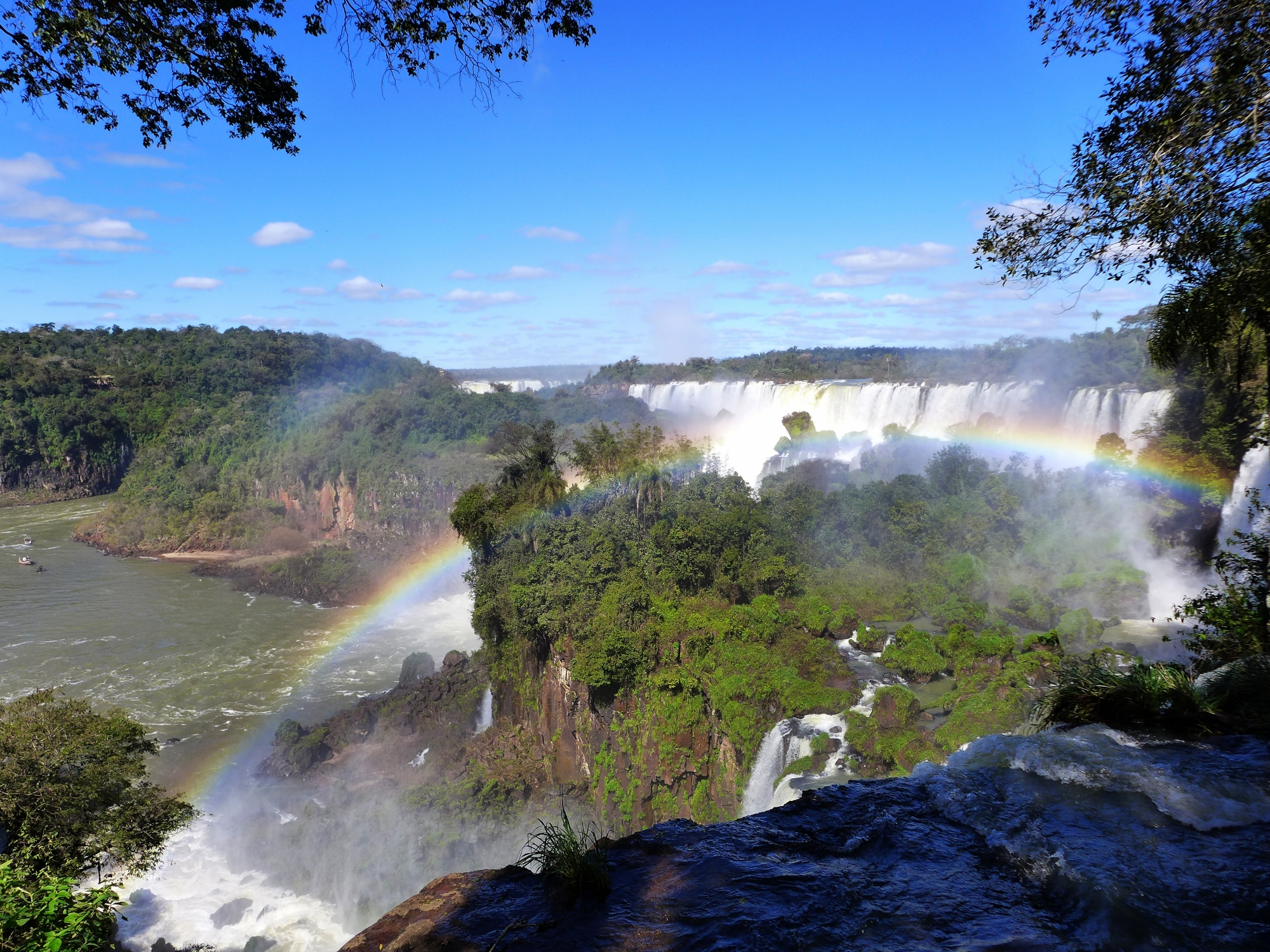 The Falls of Iguazu, a natural wonder of the world!