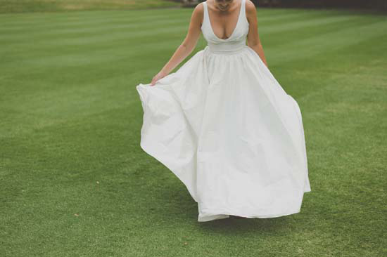 Moira Hughes Custom wedding dress
