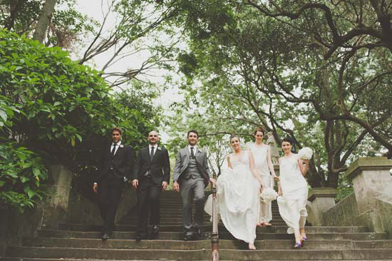 Stairs wedding picture inspiration