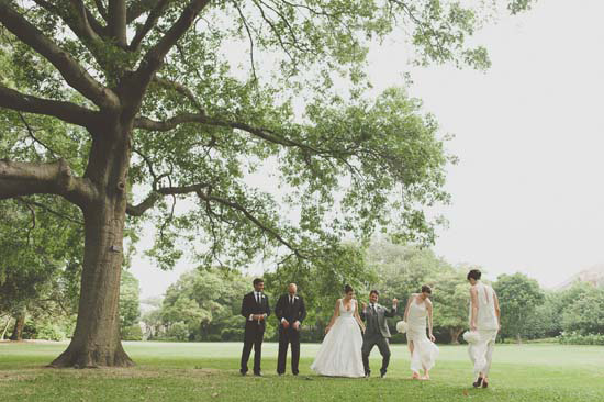 garden wedding party sydney