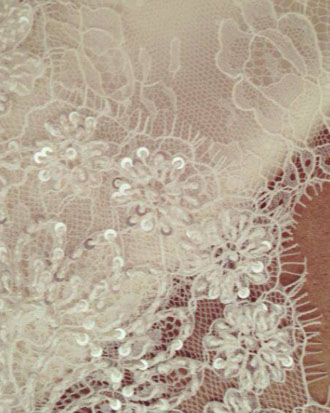 moira hughes incredible wedding dress fabric