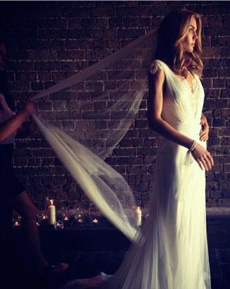 Moira Hughes wedding dress veil accessories