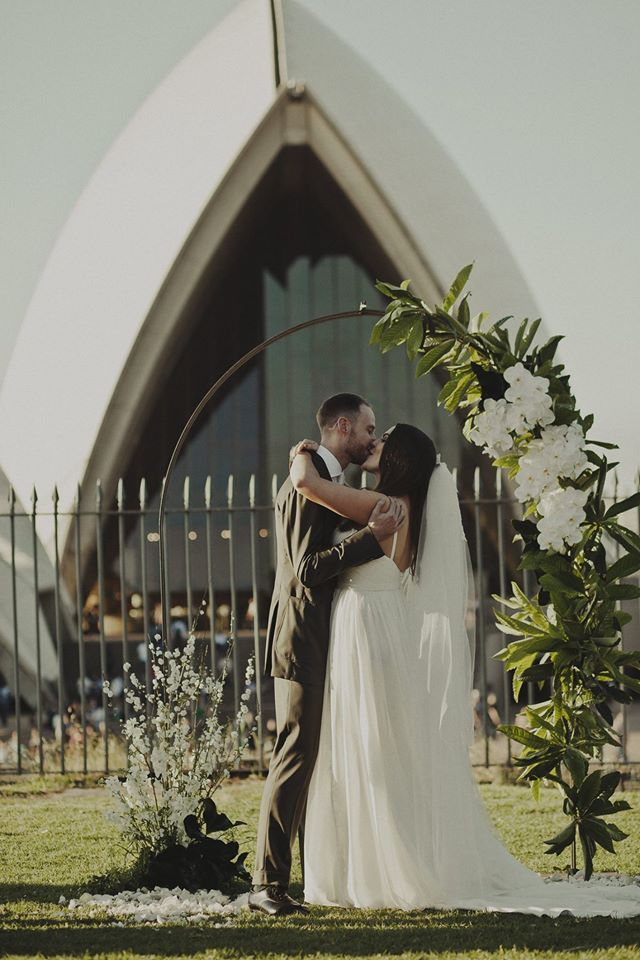 Sydney Wedding - Opera House Wedding - Moira Hughes Couture Wedding Gown Designer