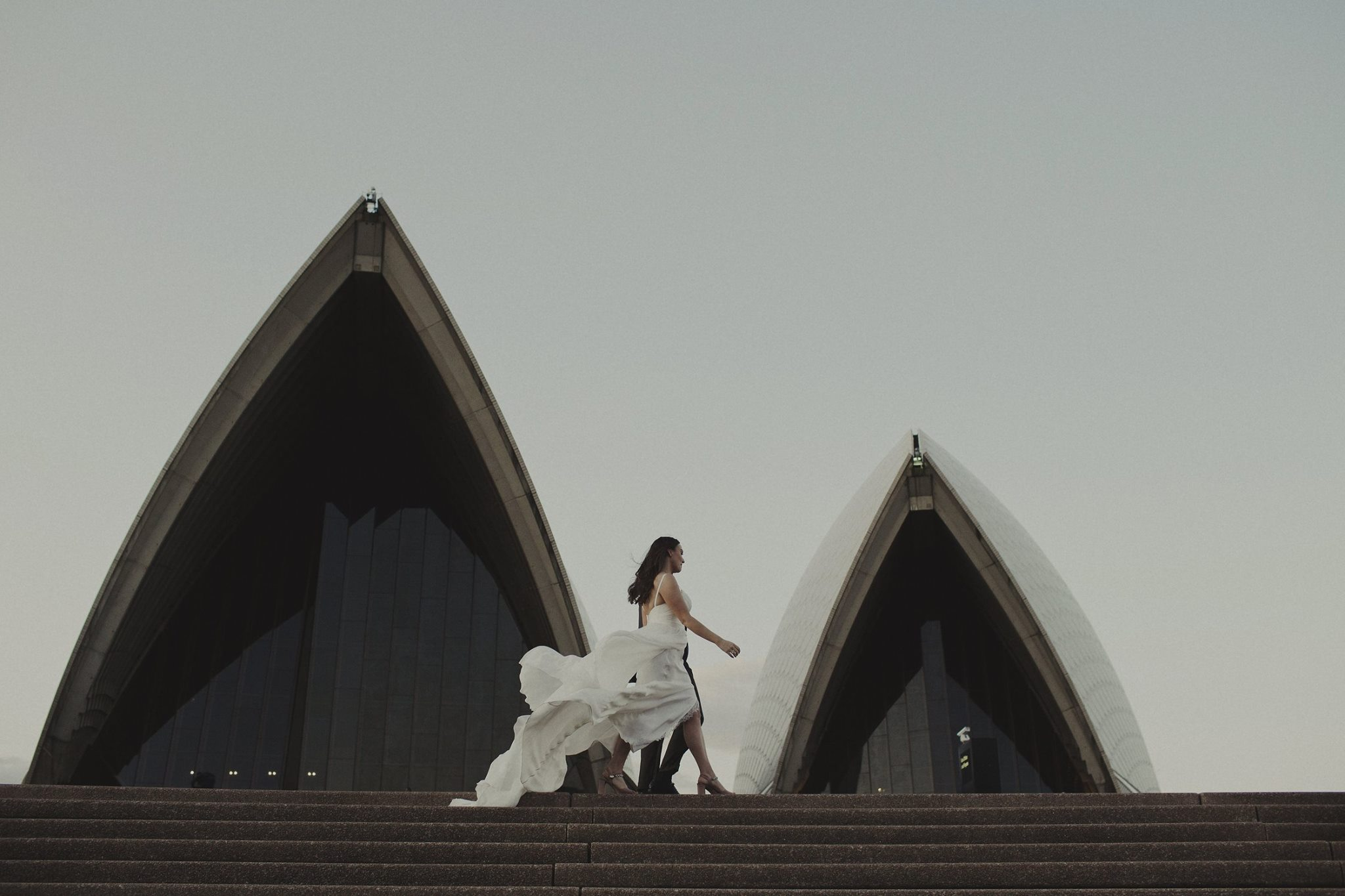 Moira Hughes Couture - Sydney Bride - Opera House Wedding