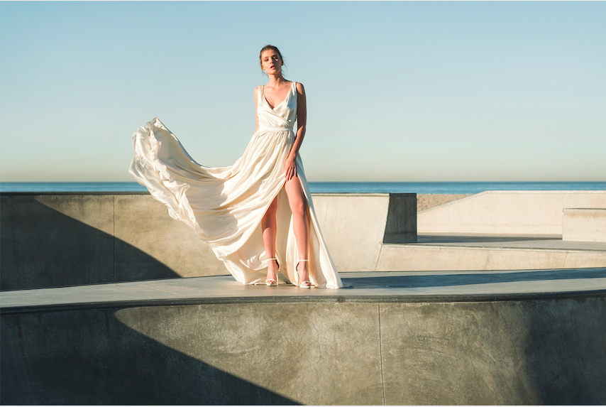 Moira Hughes Couture Frida Gown LA LoveStruck Collection