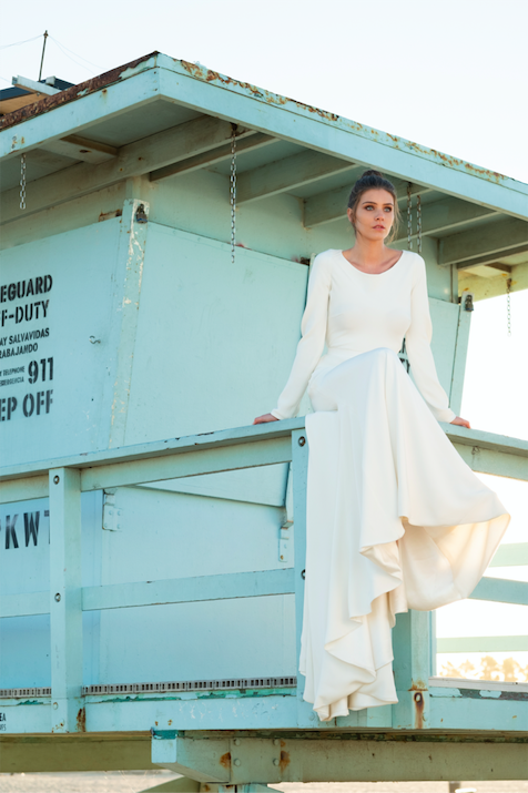 Moira Hughes Couture Pia Gown Australian Bridal Designer