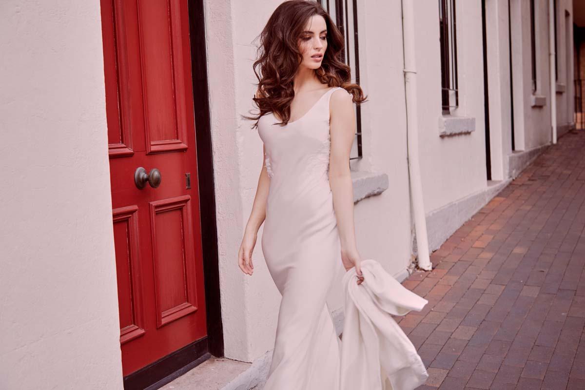 Olivia Wedding Dress Moira Hughes Couture Sydney Bridal Boutique Modern Bride Blog