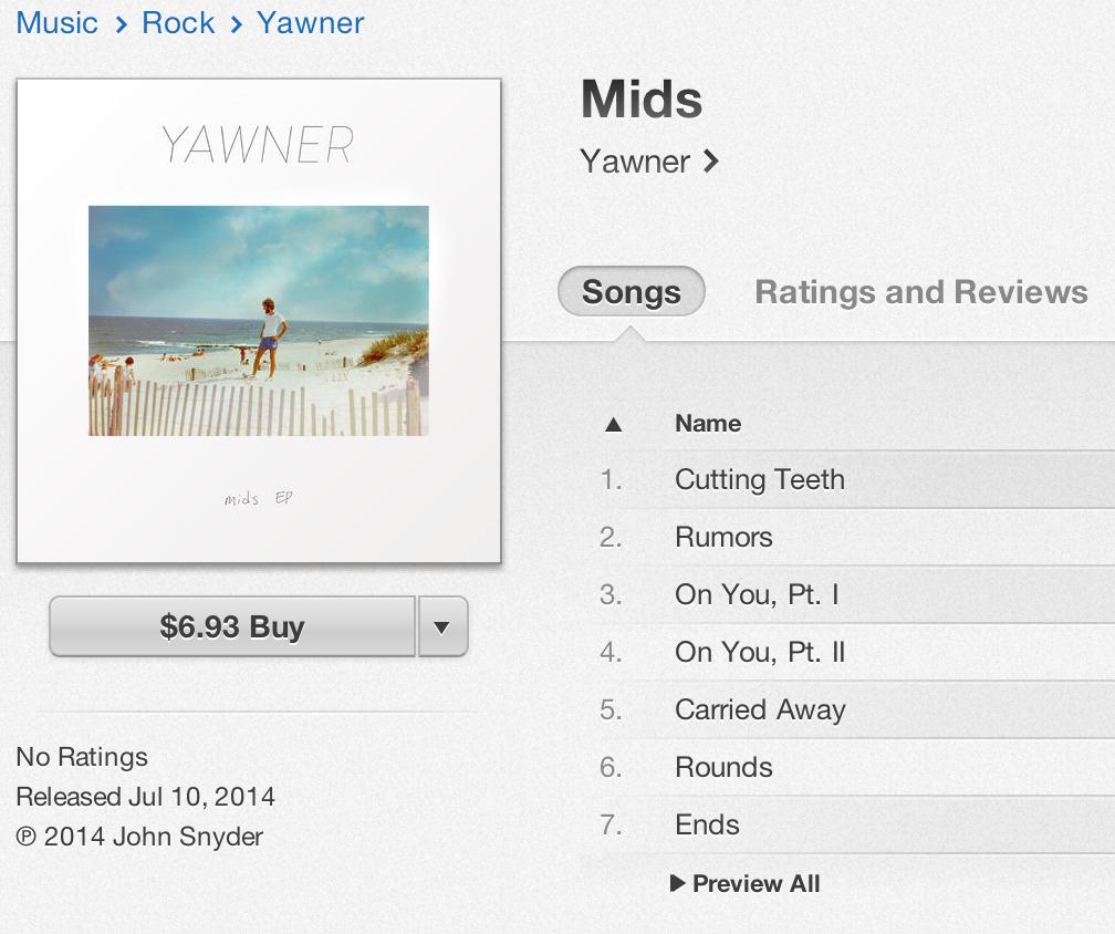 iTunesMids