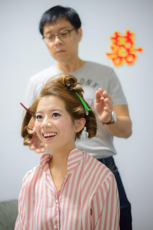 happy bride make up Bokelicious Photography