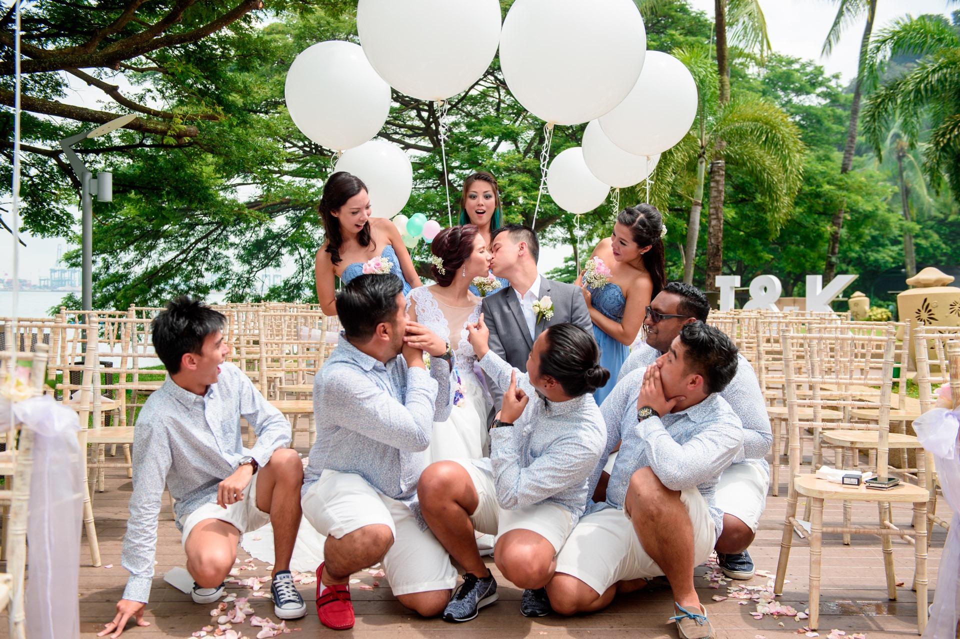Wedding at Rasa Sentosa Shangri-la