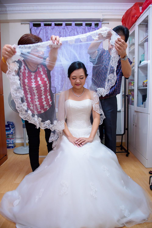 Putting veil