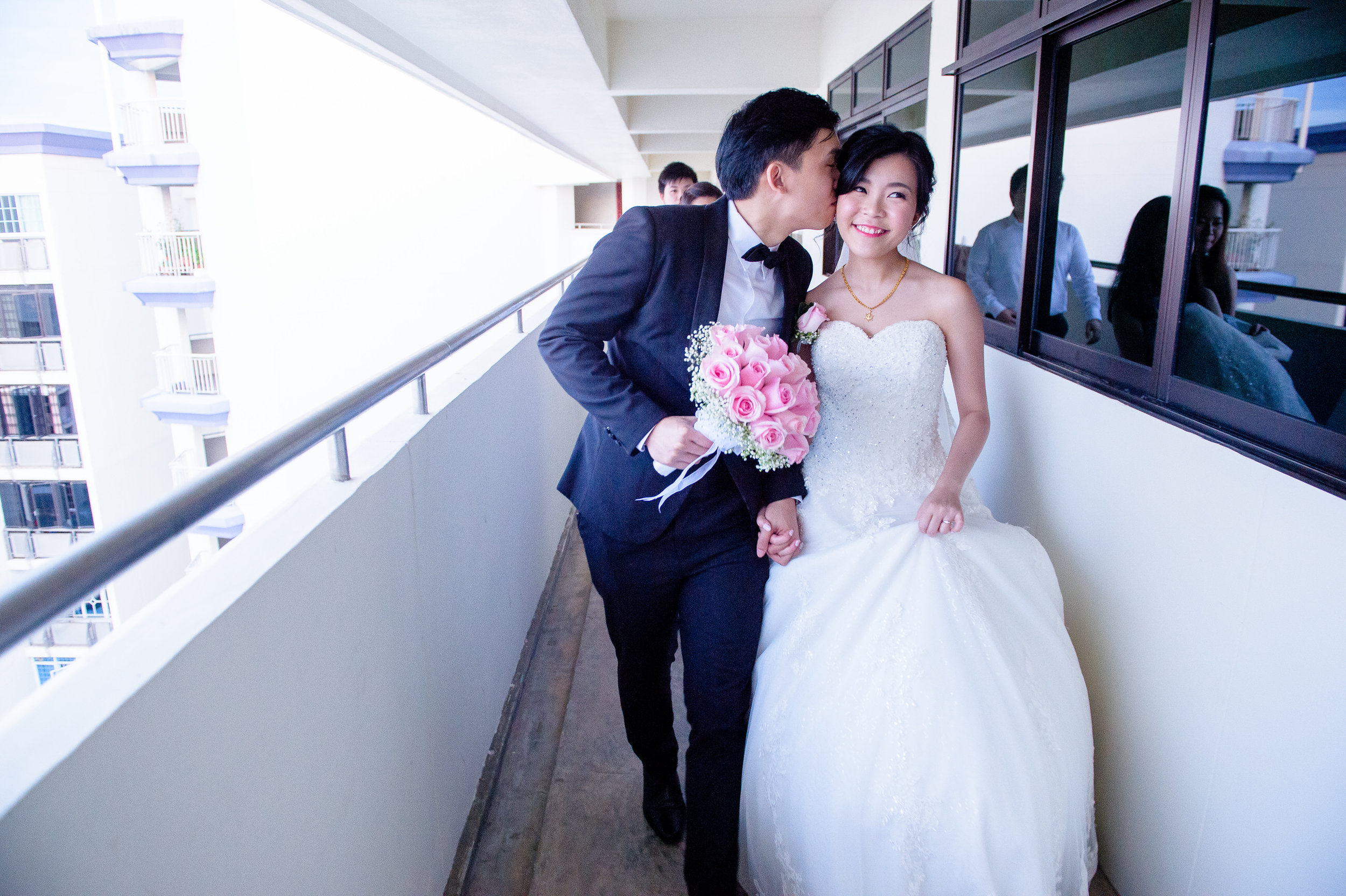 Chinese actual day wedding