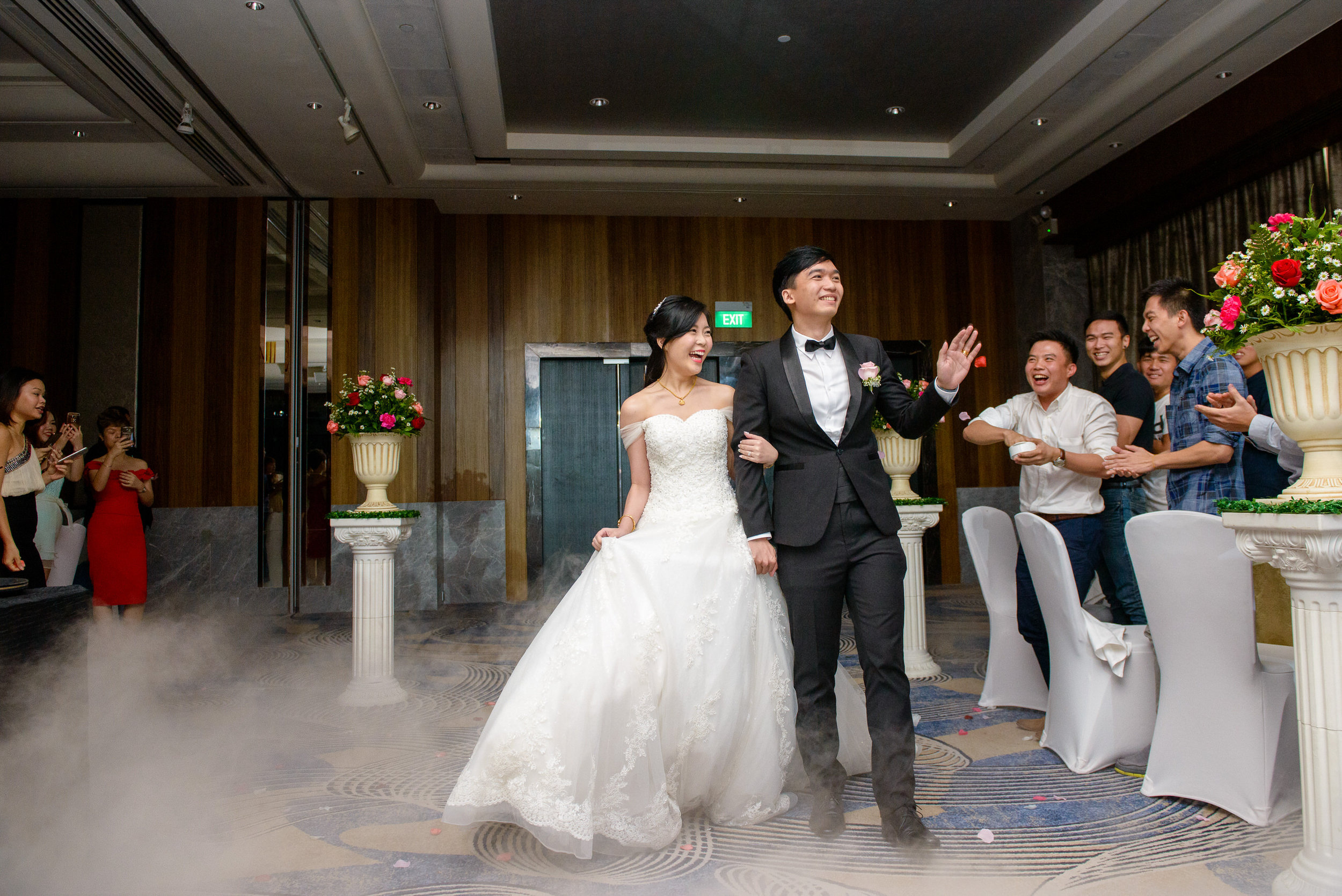 wedding banquet march in