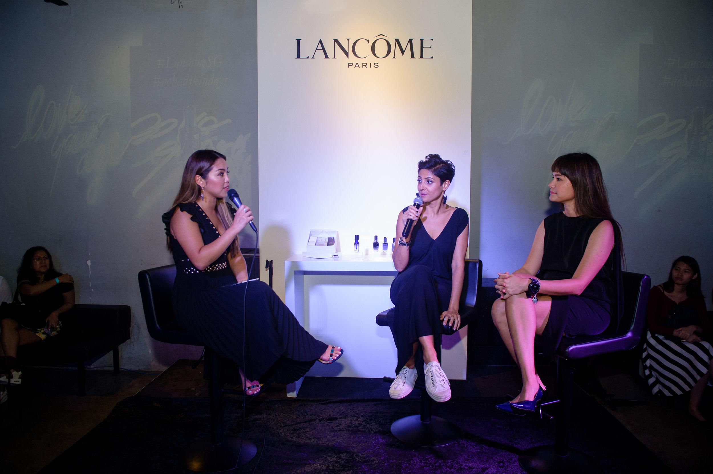 Lancome Event coverage
