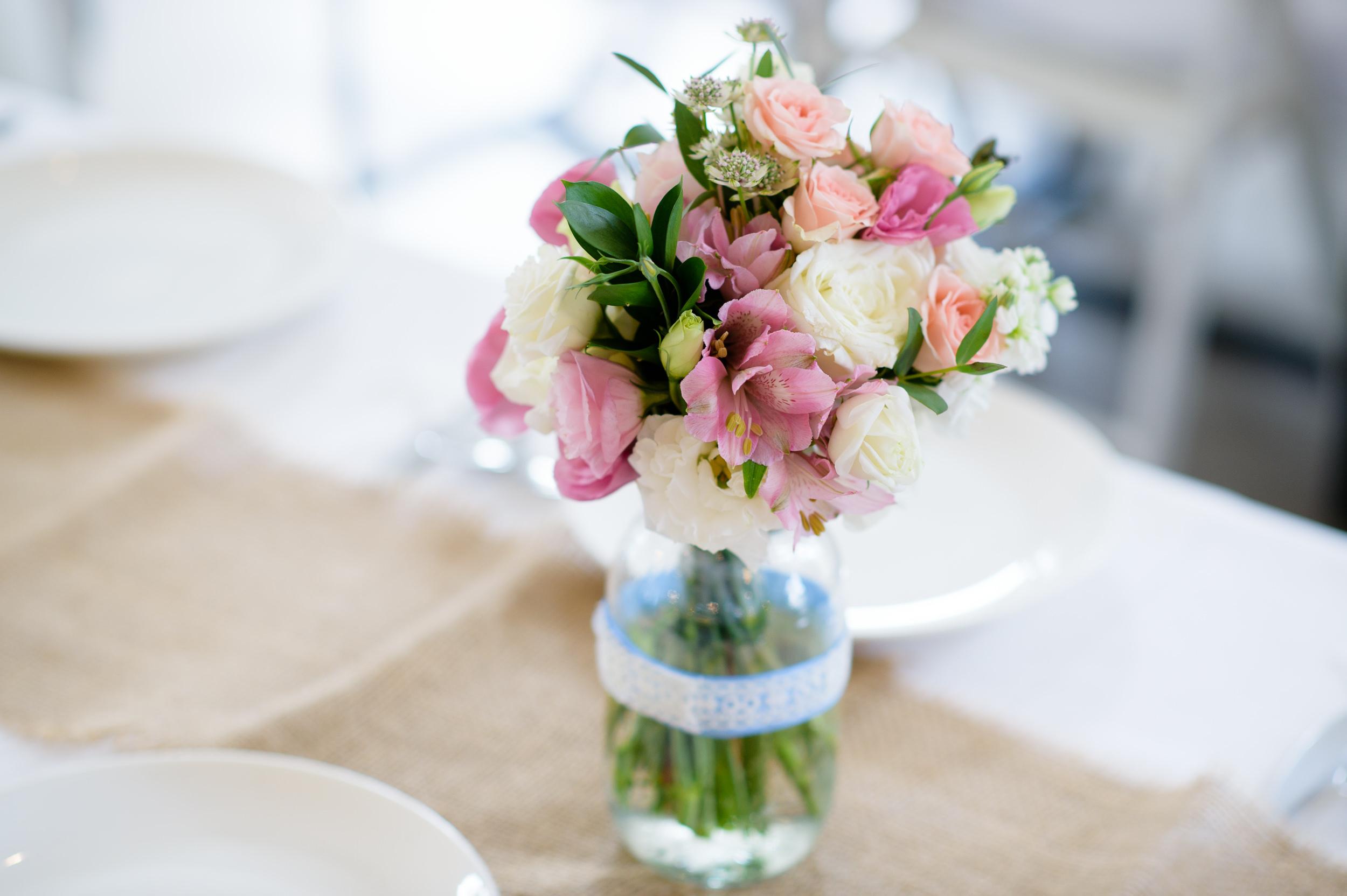ROM wedding Flower Bokelicious Photography
