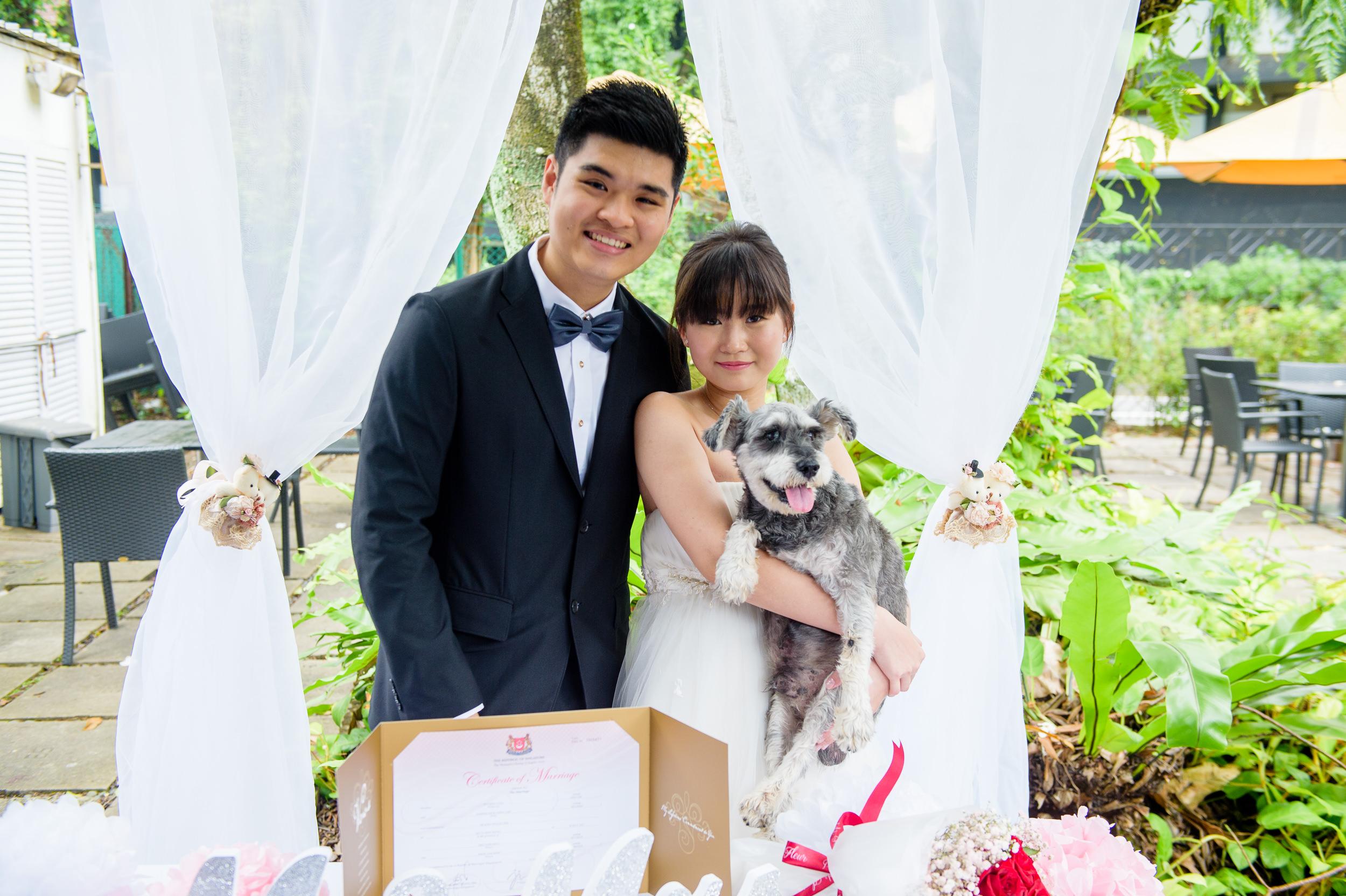 ROM wedding ceremony