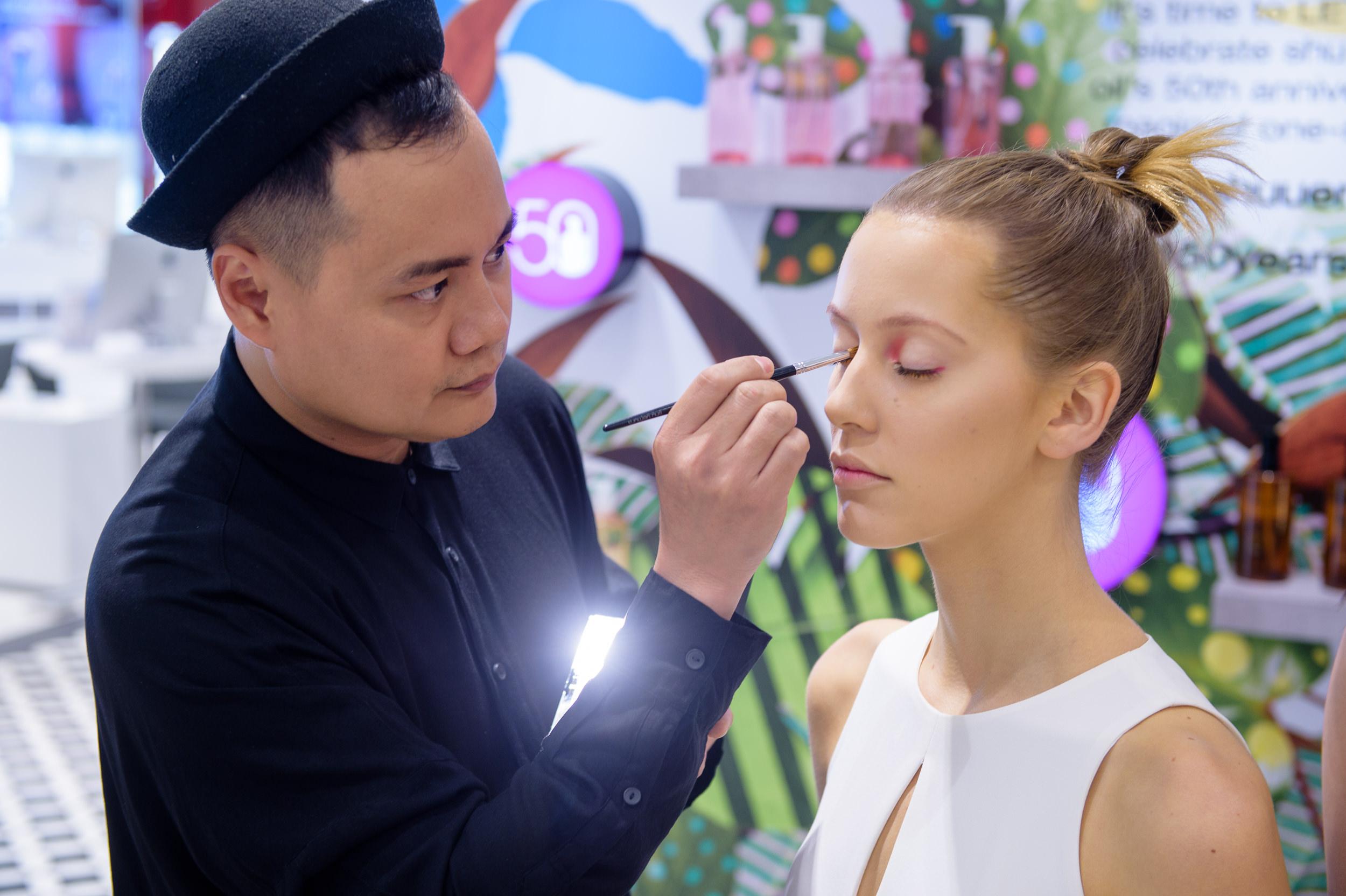 Make up event photographer Singapore Bokelicious